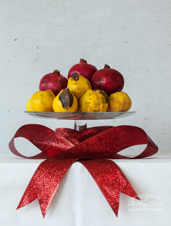 Christmas Quince and Pomegranate
