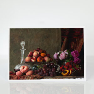 Still Life with Summer Fruits card