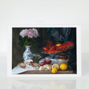 Still Life with Lobsters and Scallops card