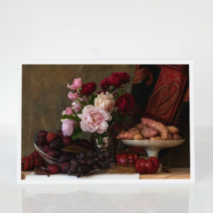 Still Life with roses card