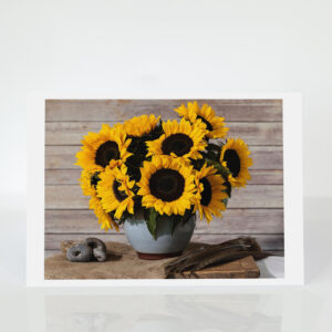Still Life with Sunflowers card