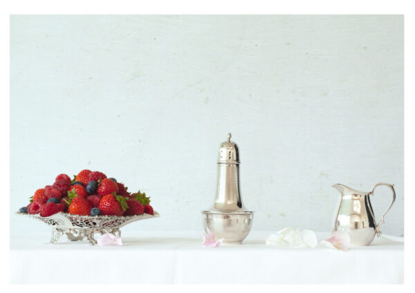 Still Life with Local Summer Fruits