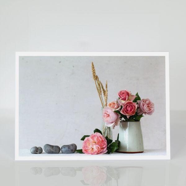 High Summer Roses card