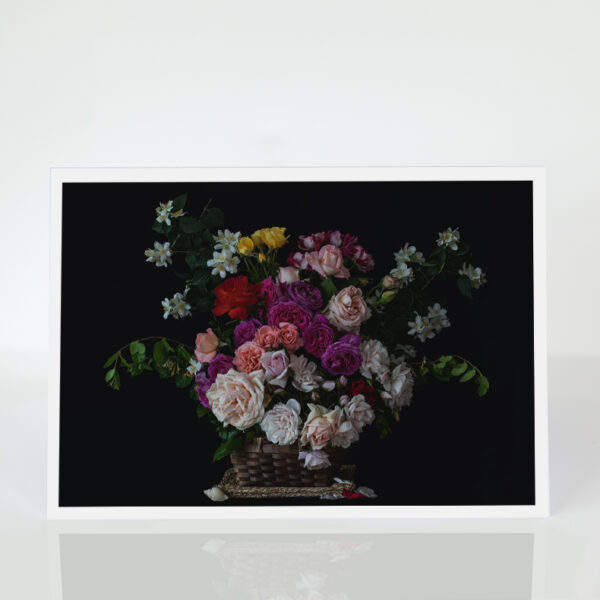 Roses in a Basked card