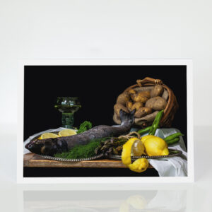 Still Life with Sea Trout card
