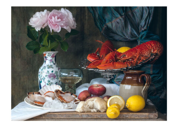 Still Life with Lobsters and Scallops