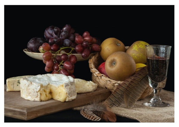 Still Life with Suffolk Cheeses